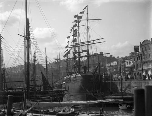 Ships, Ramsgate Harbour.