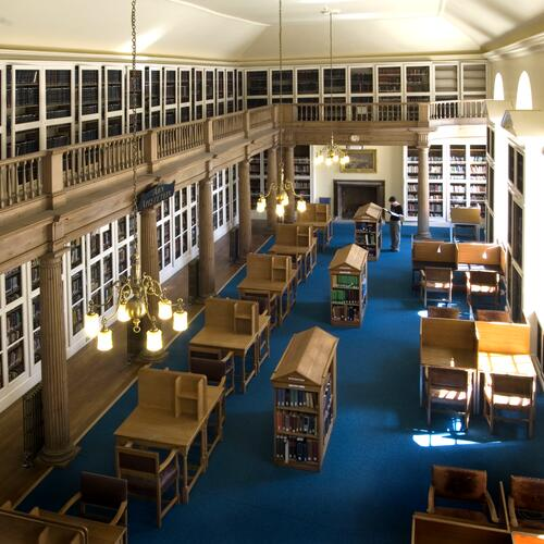 Library, St Andrews University.