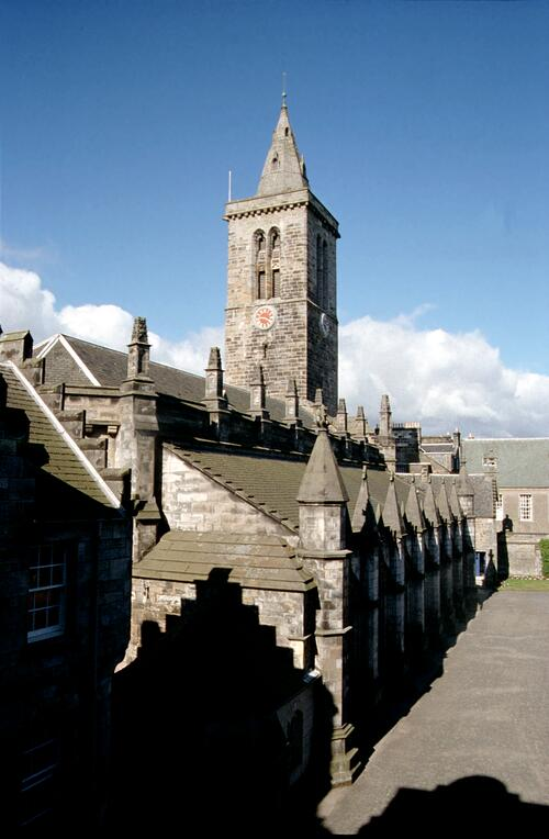 St Salvators Chapel, St Andrews.