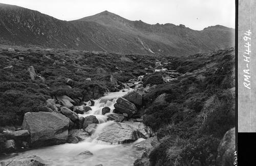 Goatfell from the White Water.