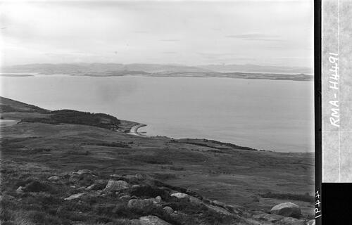 Panorama of Bute and Cowal.