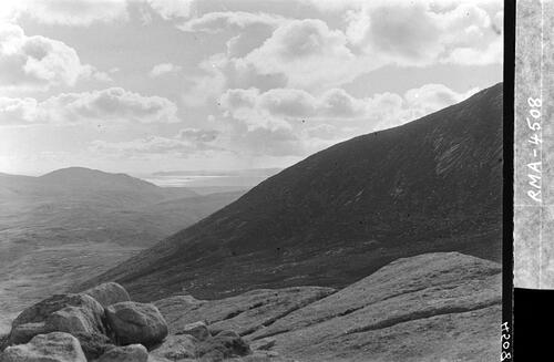 South shoulder of Goatfell.