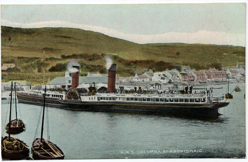 "R.M.S. ""Columba"" at Ardrishaig."