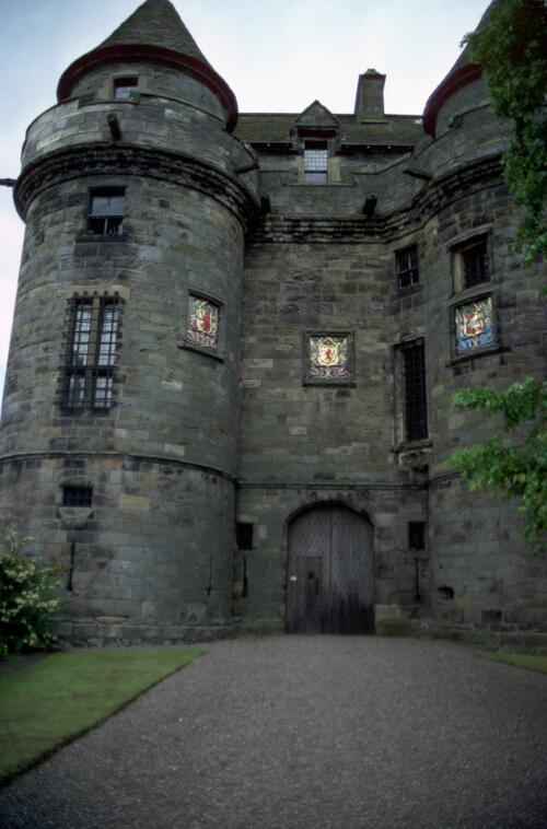 Entry, Falkland Palace.