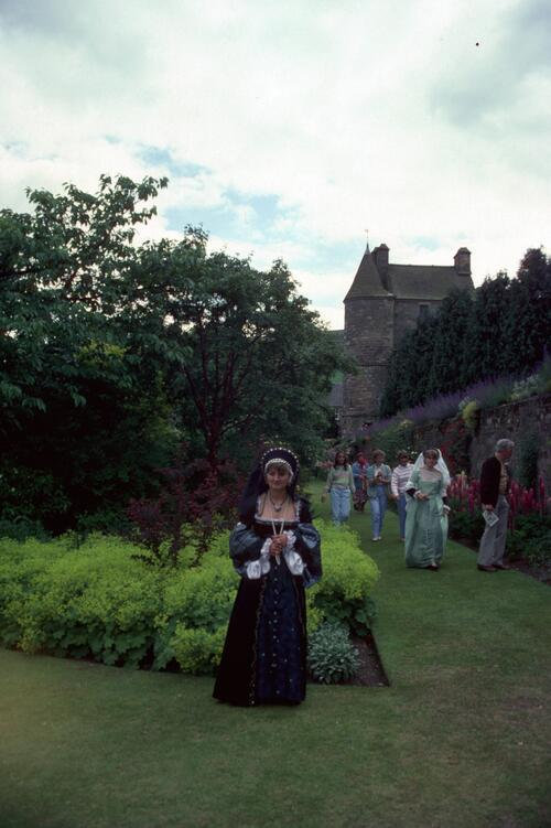 Court Lady, Falkland [Palace].