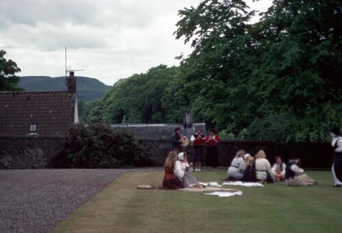 """Servants"", Falkland Palace."