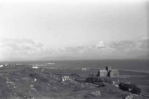 View north across Iona and the Cathedral.
