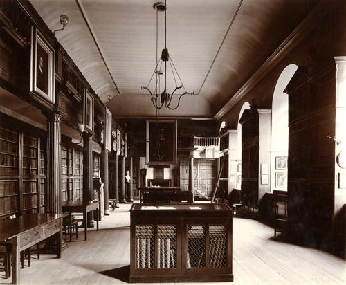 Upper Library, St Andrews.