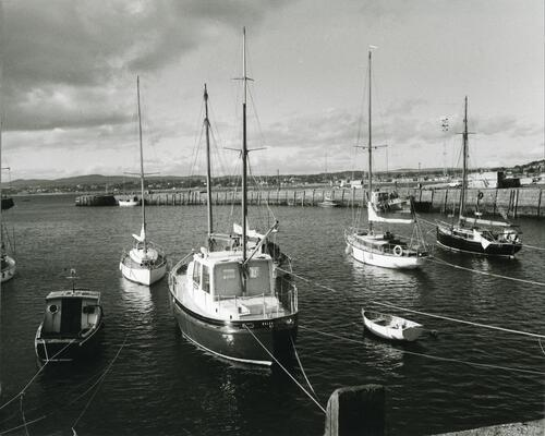 The old harbour, Irvine.