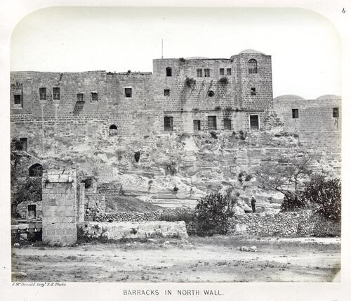 Barracks, Jerusalem.