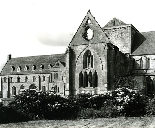 Pluscarden Priory.