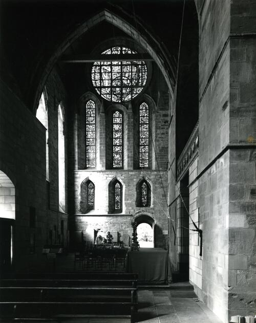 Transept, Pluscarden Abbey.