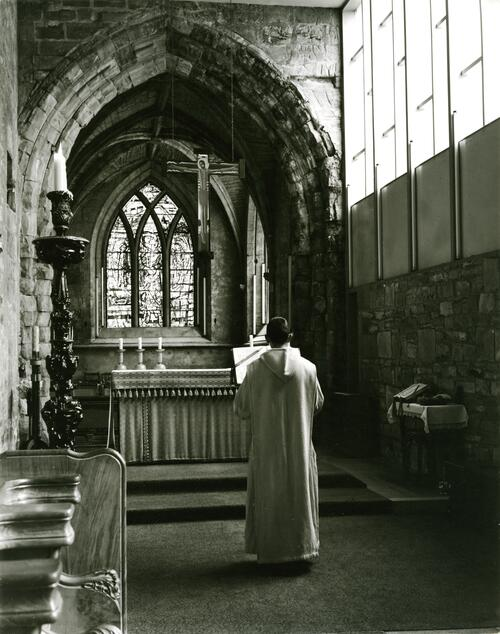 Chapel, Pluscarden Abbey.