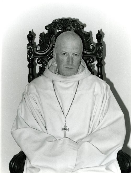 Rev Fr Alfred,Pluscarden Priory.