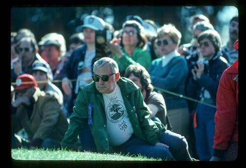 An official during the 1982 Bing Crosby Pro Am