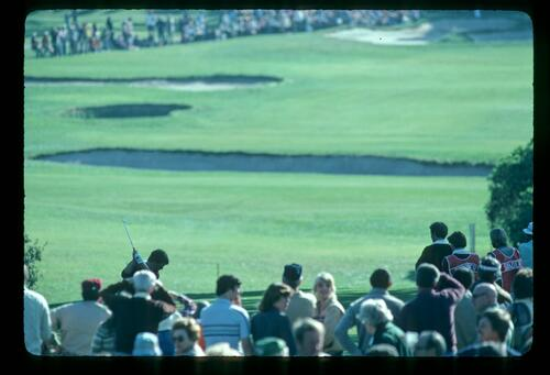 Hazy February sunshine during the 1982 Bing Crosby Pro Am