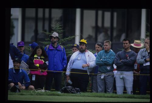 A sampling of the spectators at the United States Open Championship