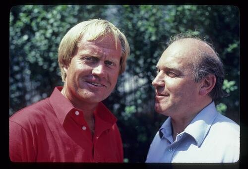 Jack Nicklaus smiles for the camera