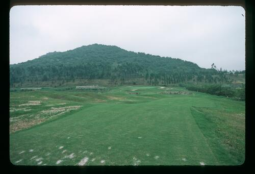 The opening of the first course in Modern China at the Chung Shan Hot Spring Golf Club