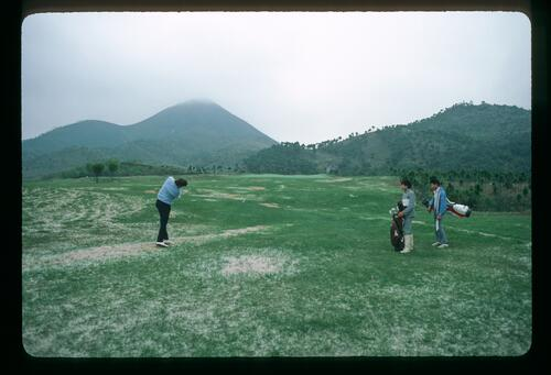 Play begins on the new Chung Shan Hot Spring Golf Course