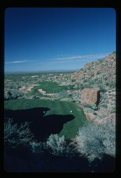 The Desert Highlands Golf Course in Scottsdale, Arizona