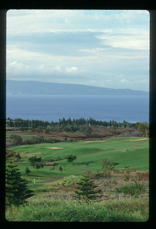 The Kapalua Bay Golf Course