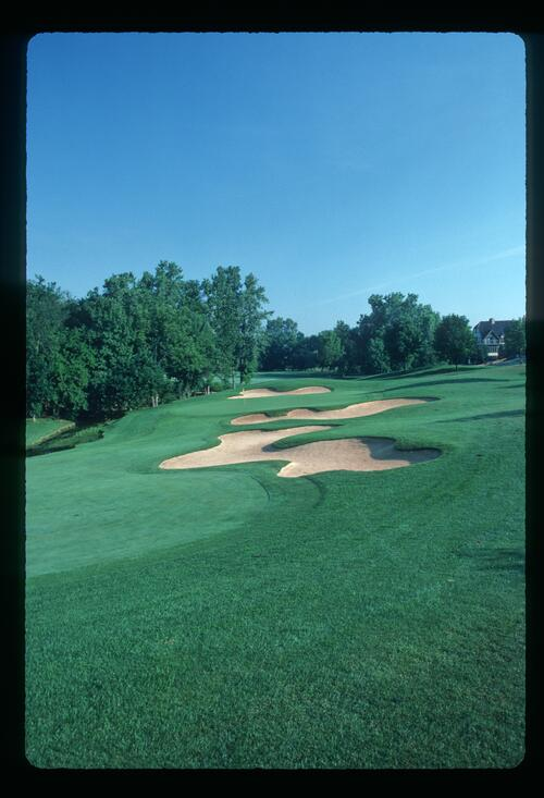 The 5th hole at Muirfield Village