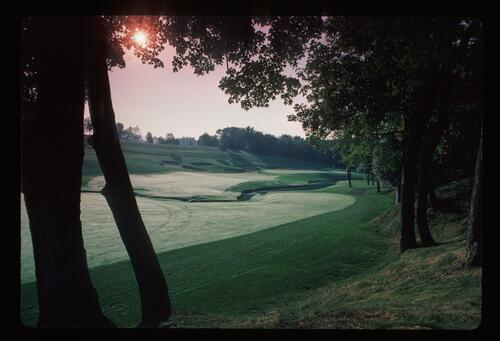 Early morning at the Muirfield Village Golf Course