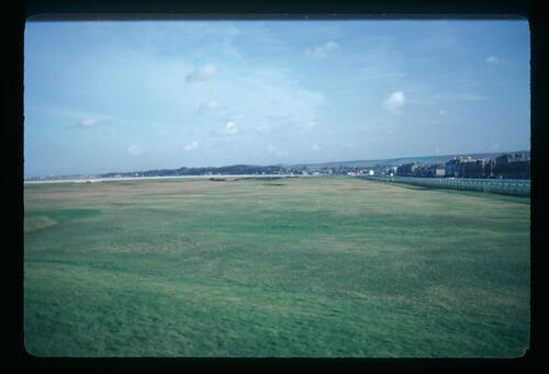 A view of the Old Course at Musselburgh
