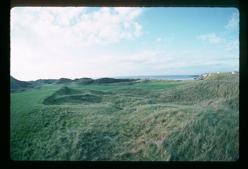 A scenic view of the Portstewart Golf Course