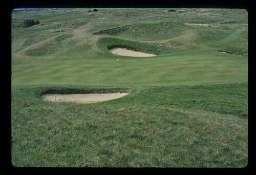 The 6th green at Royal St Georges Golf Club