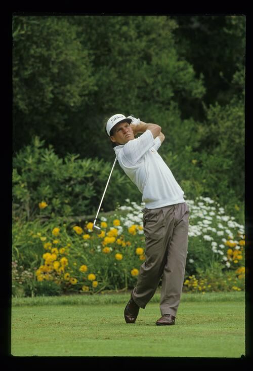 Great form off of the tee athe US Open at the Olympic club