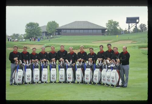 The 1987 United States Ryder Cup Team