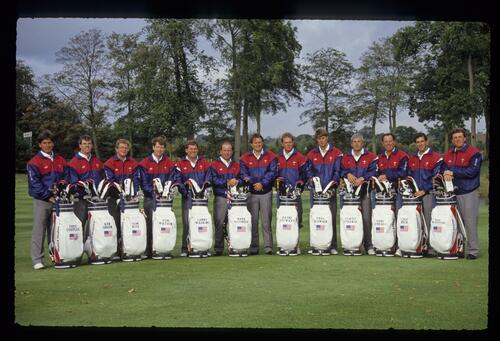 The 1989 United States Ryder Cup Team