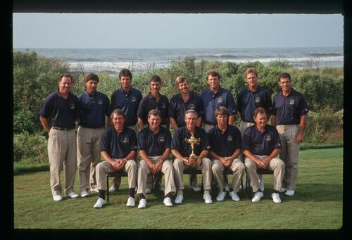 The 1991 American Ryder Cup Team