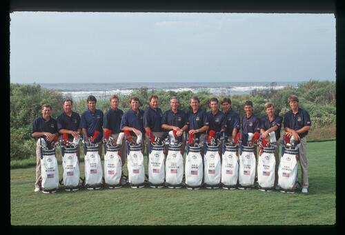 The 1991 American Ryder Cup team at Kiawah Island