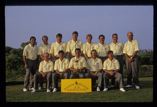 The 1991 European Ryder Cup Team