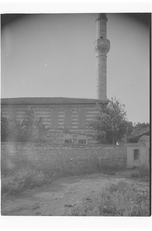 Mosque and minaret, Istanbul.