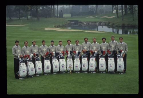 The 1993 United States Ryder Cup Team