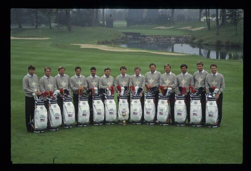 The 1993 United States Ryder Cup Team at The Belfry