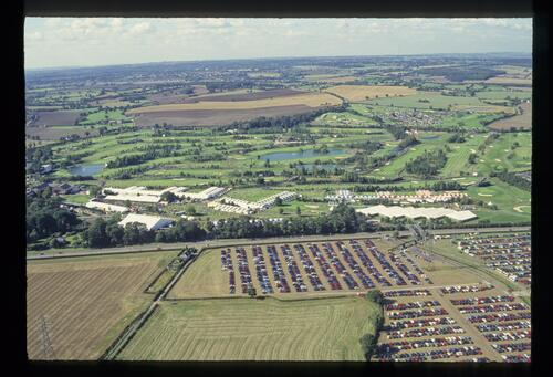 An aerial view of The Belfry for the 1993 Ryder Cup