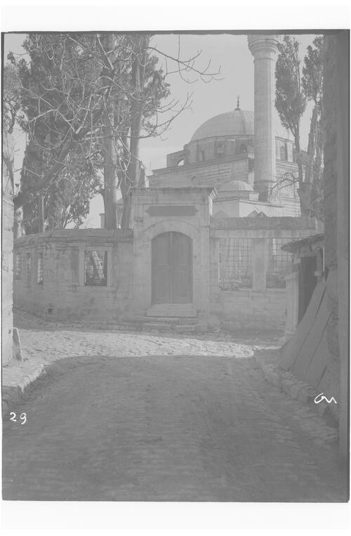 Mosque and graveyard, Istanbul.