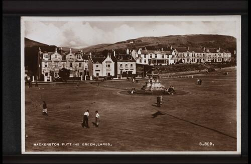 Mackerston Putting Green, Largs.
