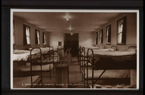 A Dormitory at Dounans School Camp, Aberfoyle.