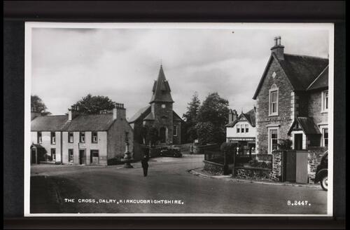 The Cross, Dalry, Kirkcudbrightshire.