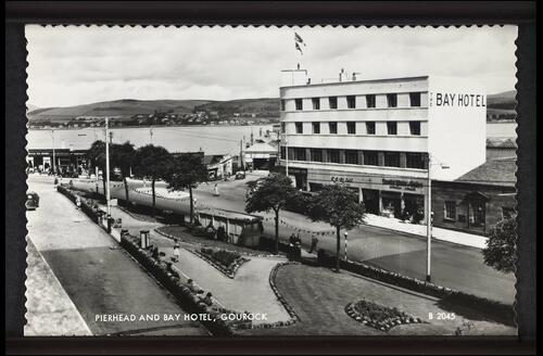 Pierhead and Bay Hotel, Gourock.