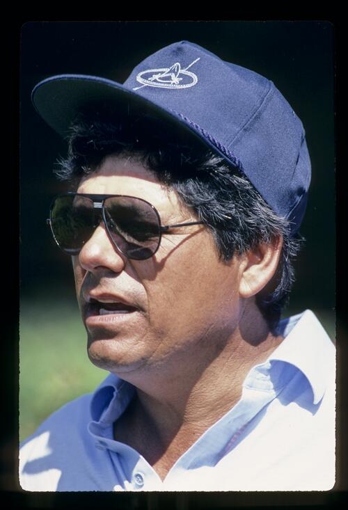 Lee Trevino looking cool as ice during the 1984 Kapalua International