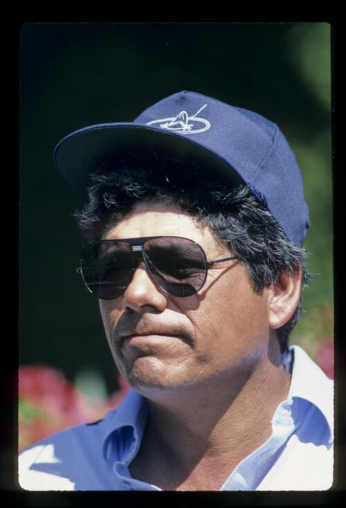 Lee Trevino looking very cool during the 1984 Kapalua International