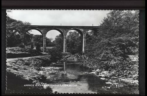 Water and Viaduct, Stewarton.
