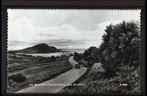 The Brodick - Lamlash Road, Isle of Arran.